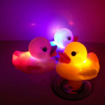 3 Pack Light Up Bath Duck Set